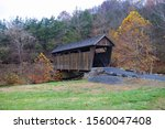 Covered Bridge In The West...