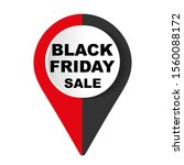 black friday sale design... | Shutterstock .eps vector #1560088172
