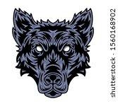 Wolf Face. Design Idea For T...
