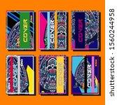 creative brochure templates...   Shutterstock .eps vector #1560244958