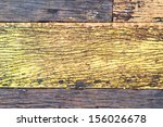 old yellow wood wall texture... | Shutterstock . vector #156026678
