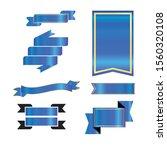 ribbon vector design for... | Shutterstock .eps vector #1560320108