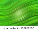 green abstract background  wavy ... | Shutterstock . vector #156032756
