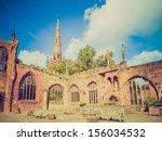 Vintage Looking Ruins Of Bombe...