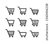 shopping cart icon. shopping... | Shutterstock .eps vector #1560406238