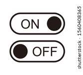 on and off toggle switch button ...