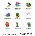 brain  creative mind  learning... | Shutterstock .eps vector #1560453398