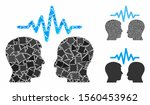 user dialog signal mosaic of... | Shutterstock .eps vector #1560453962