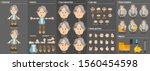 cartoon elderly woman...   Shutterstock .eps vector #1560454598