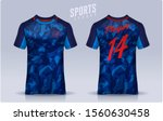 t shirt sport design template ... | Shutterstock .eps vector #1560630458