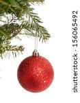Red Christmas Ornament Danglin...