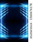 Abstract Blue Dark Background....