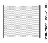 Wire Mesh Fence Vector Design...