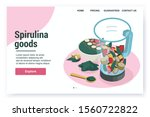 spirulina isometric web site...