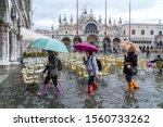 Venice  Italy   November 12 ...
