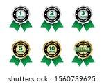 quality certification warranty...   Shutterstock .eps vector #1560739625
