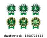 quality certification warranty...   Shutterstock .eps vector #1560739658