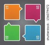 modern design template   can be ... | Shutterstock .eps vector #156079472