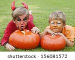 Mischievous  Cute Boys Dressed...