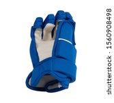 blue ice hockey protective... | Shutterstock . vector #1560908498