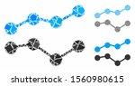 trends mosaic of tuberous... | Shutterstock .eps vector #1560980615
