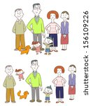 family | Shutterstock .eps vector #156109226
