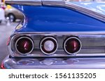Closeup Taillight Sections Of...