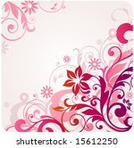 floral background | Shutterstock .eps vector #15612250