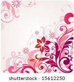 floral background | Shutterstock .eps vector #15612250