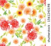 flower print. elegance seamless ... | Shutterstock .eps vector #1561240198