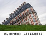 The Sinking House In Montmarte...