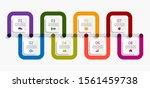 infographic design template...   Shutterstock .eps vector #1561459738