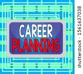 text sign showing career... | Shutterstock . vector #1561637038