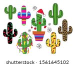 silhouettes collection of... | Shutterstock .eps vector #1561645102