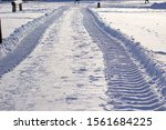 Fresh Tracks From The Tractor...