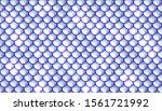 mermaid tale scales seamless...   Shutterstock .eps vector #1561721992