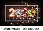 new year 2020 creative... | Shutterstock .eps vector #1561802455