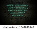 Neon Inscription Of Christmas...