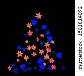 festive background with... | Shutterstock .eps vector #1561814092