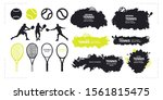 abstract vector tennis.... | Shutterstock .eps vector #1561815475