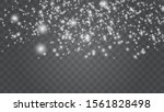 falling snow  snowflake.... | Shutterstock .eps vector #1561828498