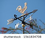 Rooster Weather Vane Show The...