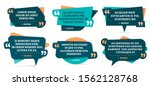 quote remark frames. quotation... | Shutterstock . vector #1562128768