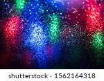 glitter bokeh lighting effect...   Shutterstock . vector #1562164318