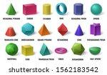 Realistic 3d Color Basic Shape...
