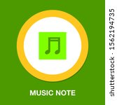 vector musical note symbol  ... | Shutterstock .eps vector #1562194735