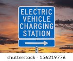 electric vehicle charging...   Shutterstock . vector #156219776