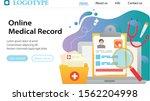 vector web site gradient design ...   Shutterstock .eps vector #1562204998