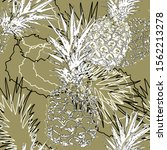 seamless abstract pattern.... | Shutterstock . vector #1562213278
