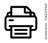 printer icon simple minimalist  ...